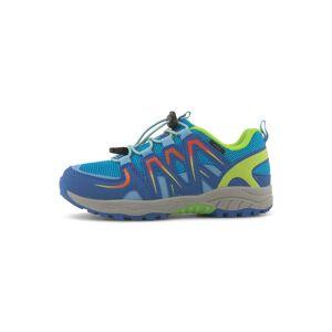 TOM TAILOR Outdoor Sneaker mit Neon-Akzenten,  blue-lime-orange, Größe: 28