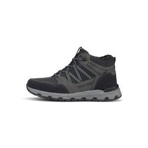 TOM TAILOR Gefütterte Trekking Sneaker, Herren, black-grey, Größe: 43