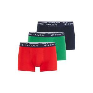 TOM TAILOR Hip-Pants im Dreierpack, Herren, cardinal-navy-green, Größe: L/6
