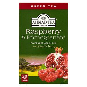 Ahmad Tea Grüner Tee Raspberry & Pomegranate tea  20x2g Alu-Beutel