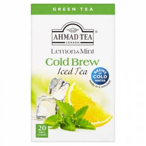 Ahmad Tea Eistee Green Lemon and Mint  20x2g Beutel