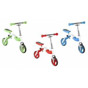 Kinder Lernlaufrad und Roller 2 in 1, blau