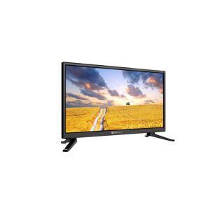 OPTICUM Camping LED TV, 24 mit DVB-S2 HD, DVB C und DVB-T2 Tuner mit HEVC / H.265