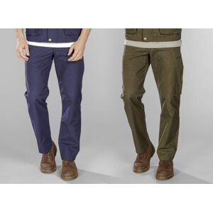 Outdoorhose, Gesäßtasche mit Reißverschluss, Farbe blaugrau, Gr.58
