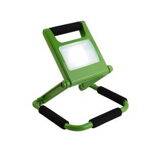 Smartwares® LED Klappfluter - 10 Watt, 2 Leuchtstufen, aufladbar mit Akku zur kabellosen Nutzung