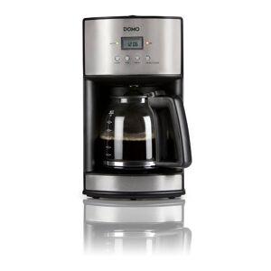 Domo Timer-Kaffeeautomat 1,8L, Edelstahl