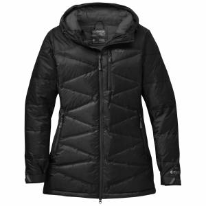 Outdoor Research Women's Floodlight Down Parka-washed peacock-S - Gr. S