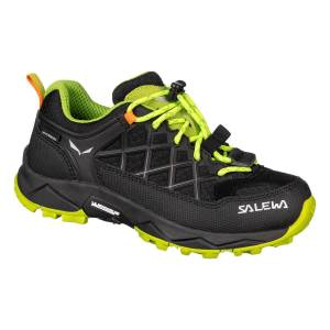 Salewa  JR WILDFIRE WP - Black Out/Cactus - 38