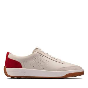 Clarks Sneakers - Hero Air Lace Weiß / Rot 47