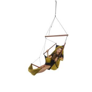 Descotis Hanging Chair Sparkling Gold