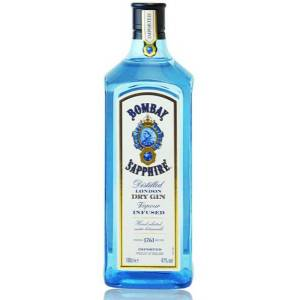 Bombay Spirits Company Bombay Sapphire London Dry Gin 47 % vol. Literflasche