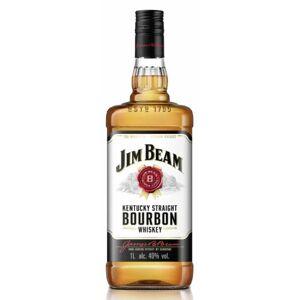 Beam Jim Beam Kentucky Straight Bourbon Whiskey 40 % vol. Literflasche
