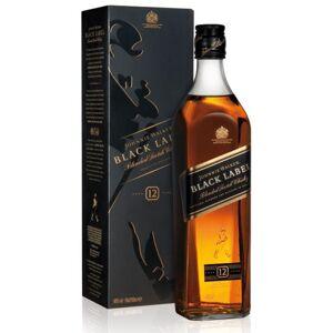 Johnnie Walker Black Label Blended Scotch Whisky 40 % vol. in Geschenkpackung