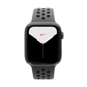 Apple Gebraucht: Apple Watch Series 5 Nike+ Aluminiumgehäuse grau 44mm mit Sportarmband schwarz (GPS) grau