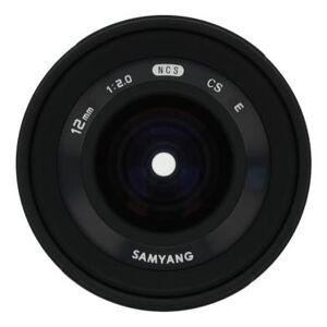 Samyang 12mm 1:2.0 NCS CS für Sony E Schwarz