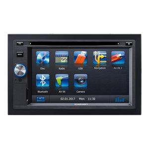 Pioneer Multimedia Autoradio MVH-A210BT