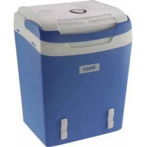 Ezetil E32M 12/230V ssbf Kühlbox EEK: A++ (A+++ - D) Thermoelektrisch 230 V, 12 V Blau 29 l (776970)