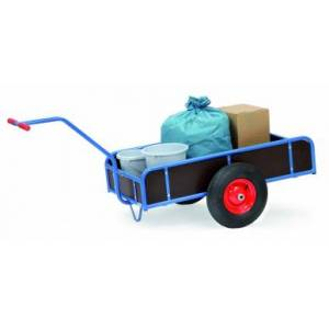 Fetra Handwagen bis 400 kg, 1-Achser mit 4 Wänden, 250 mm hoch Fetra 4107V