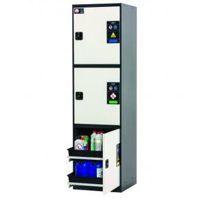 Asecos Gasflaschenschrank CS-CLASSIC-MultiRisk modell CS.195.054.MH.3WDR