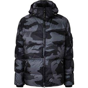 Bogner Men Down Jacket SIMON2 black camouflage 50 schwarz Herren