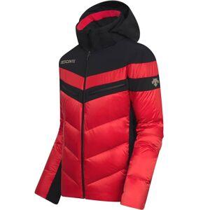 Descente Men DTL Hybrid Down Jacket BARRET electric red/black 52 rot Herren