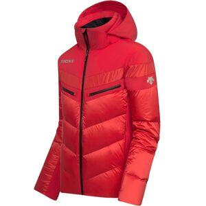 Descente Men DTL Hybrid Down Jacket BARRET electric red 52 rot Herren