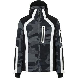 Bogner Men Team Jacket NIK black camouflage 52 schwarz Herren
