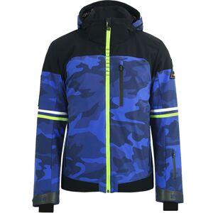 Sportalm Men Jacket 943018 neptune blue camo 48 blau Herren
