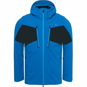 Kjus Men Jacket EVOLVE aruba blue/black 52 blau Herren
