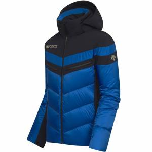 Descente Men DTL Hybrid Down Jacket BARRET nautical blue/black 54 blau Herren
