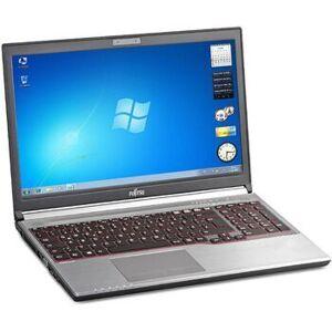 """Fujitsu Lifebook E754   15.6""""   i5-4300M   8 GB   256 GB SSD   Win 10 Pro   DE"""