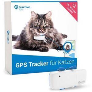 Wie neu: Tractive GPS Tracker für Katzen mit Aktivitätstracking und unlimiterter Reichweite   EXKL. ABO   weiß