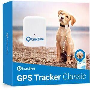 Wie neu: Tractive GPS Tracker für Hunde (Modell 2018)   EXKL. ABO   weiß