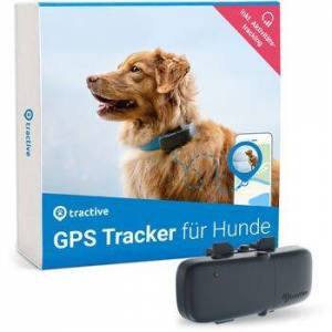 Wie neu: Tractive GPS Tracker für Hunde mit Aktivitätstracking (Modell 2020)   EXKL. ABO   grau
