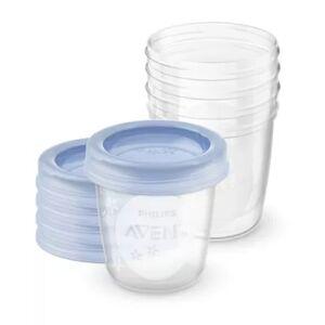 Avent Buy 180ml Muttermilchbehälter, 5Stck.SCF619/05 online   Philips Shop
