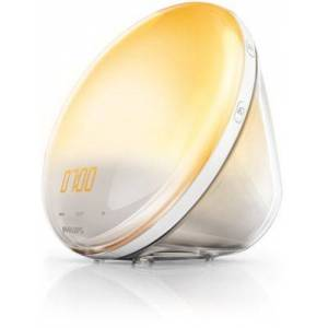 Philips Buy Wake-up Light mit farbiger SonnenaufgangssimulationHF3520/01 online   Philips Shop