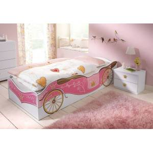 rauch ORANGE Bett »Kate« rosa