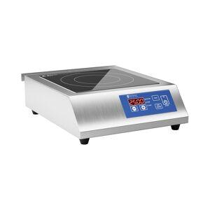 Royal Catering Induktionsplatte - 26 cm - 60 bis 240 °C - LED-Touchdisplay - Timer