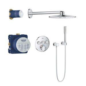 Grohe Grohtherm SmartControl - Duschsystem Rainshower SmartActive 310 mit Thermostatarmatur chrom
