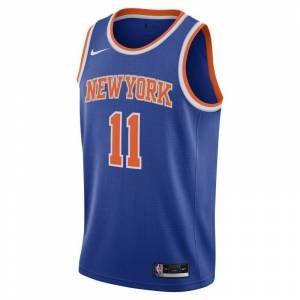 Nike Frank Ntilikina Knicks Icon Edition 2020 Nike NBA Swingman Trikot - Blau M Male  Blau
