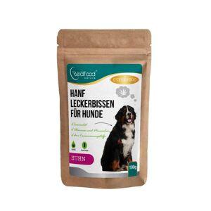 Redfood24 Hanfleckerbissen für Hunde - Hähnchengeschmack