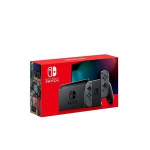Nintendo SWITCH Switch Konsole Grau (neue Edition) transparent Unisex EG