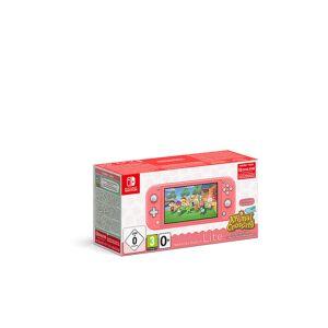 Nintendo SWITCH Lite Koralle & Animal Crossing -New Horizons-Edition transparent Unisex EG