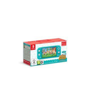 Nintendo SWITCH Lite Türkis & Animal Crossing -New Horizons-Edition transparent Unisex EG