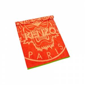 Kenzo Strandtuch aus Frottee Modell 'Newtiger' One Size red Damen