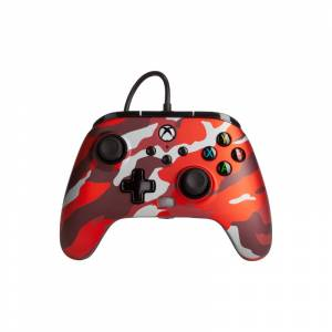 Power A Enhanced Wired Controller für Xbox Series X/S Rot Camouflage