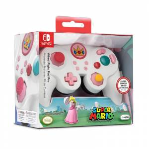 Performance Designed Products LLC PDP Wired Controller Smash Pad Pro Peach für Nintendo Switch