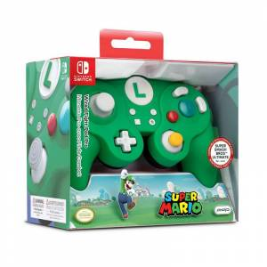 Performance Designed Products LLC PDP Wired Controller Smash Pad Pro Luigi für Nintendo Switch