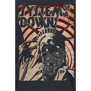System Of A Down Liberty Bandit T-Shirt schwarz XXL Männer schwarz