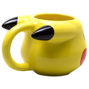 Pokémon Pikachu 3D Tasse gelb Onesize Unisex gelb